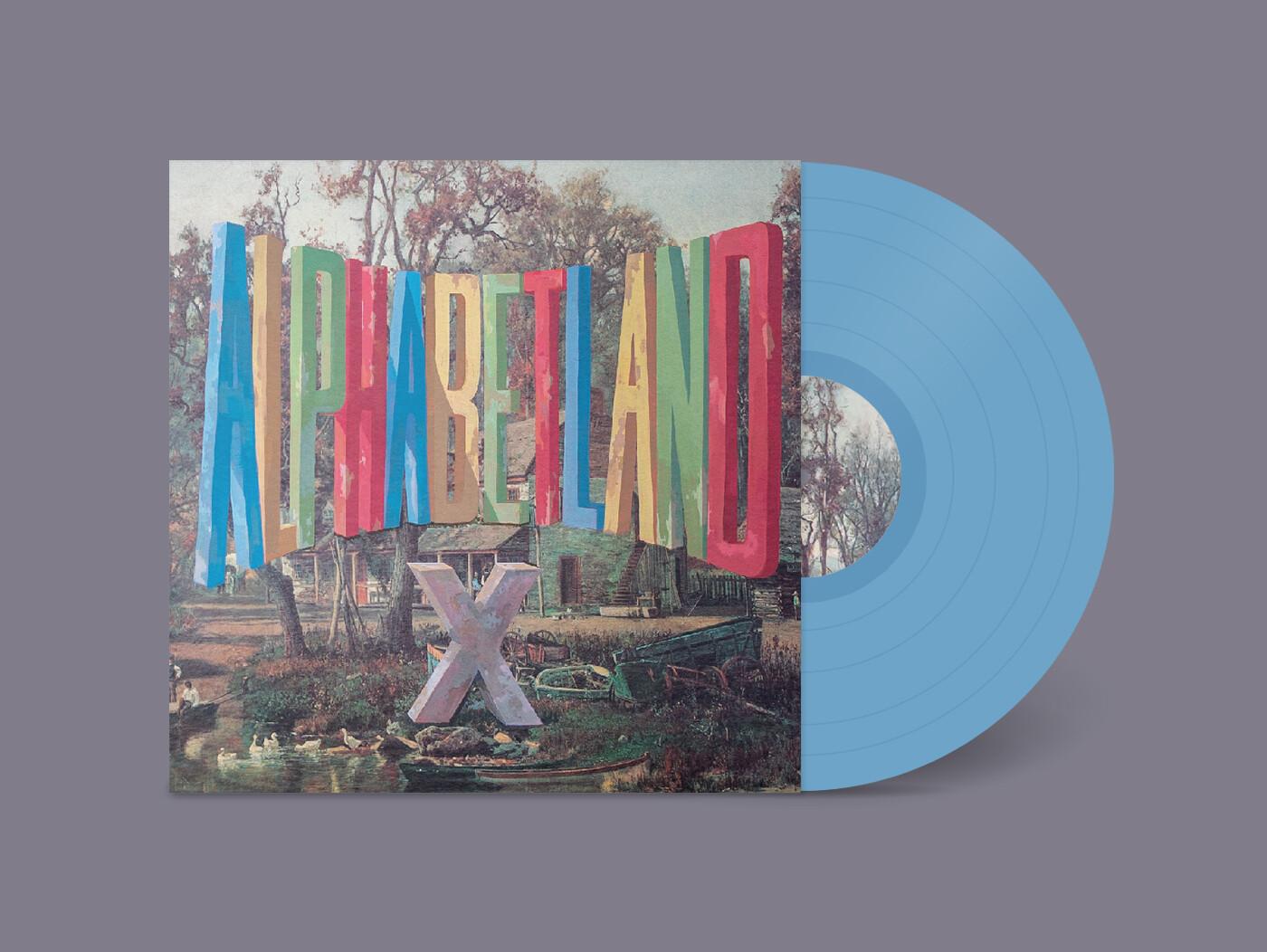 """X """"Alphabetland"""" *Indie Exclusive Blue Vinyl*"""