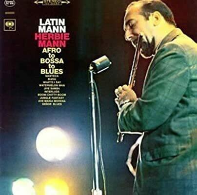"Herbie Mann ""Latin Mann: Afro To Bossa To Blues"" VG 1965"