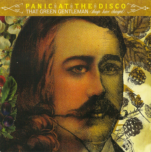 "Panic At The Disco ""That Green Gentleman (Things Have Changed)"" *45* 2008"