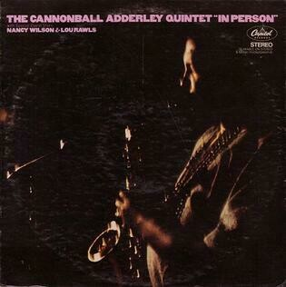 """Cannonball Adderley Quintet """"In Person"""" VG+ 1970"""