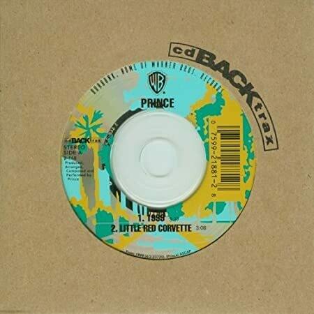 """Prince """"1999/Little Red Corvette"""" *CD* 1999 {single}"""