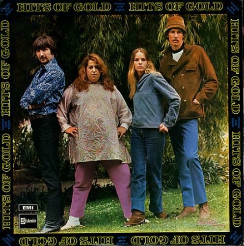 """The Mamas & The Papas """"Hits Of Gold"""" EX+ 1968"""