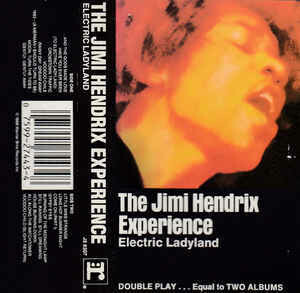 "Jimi Hendrix Experience ""Electric Ladyland"" *TAPE* 1968/re.1988"