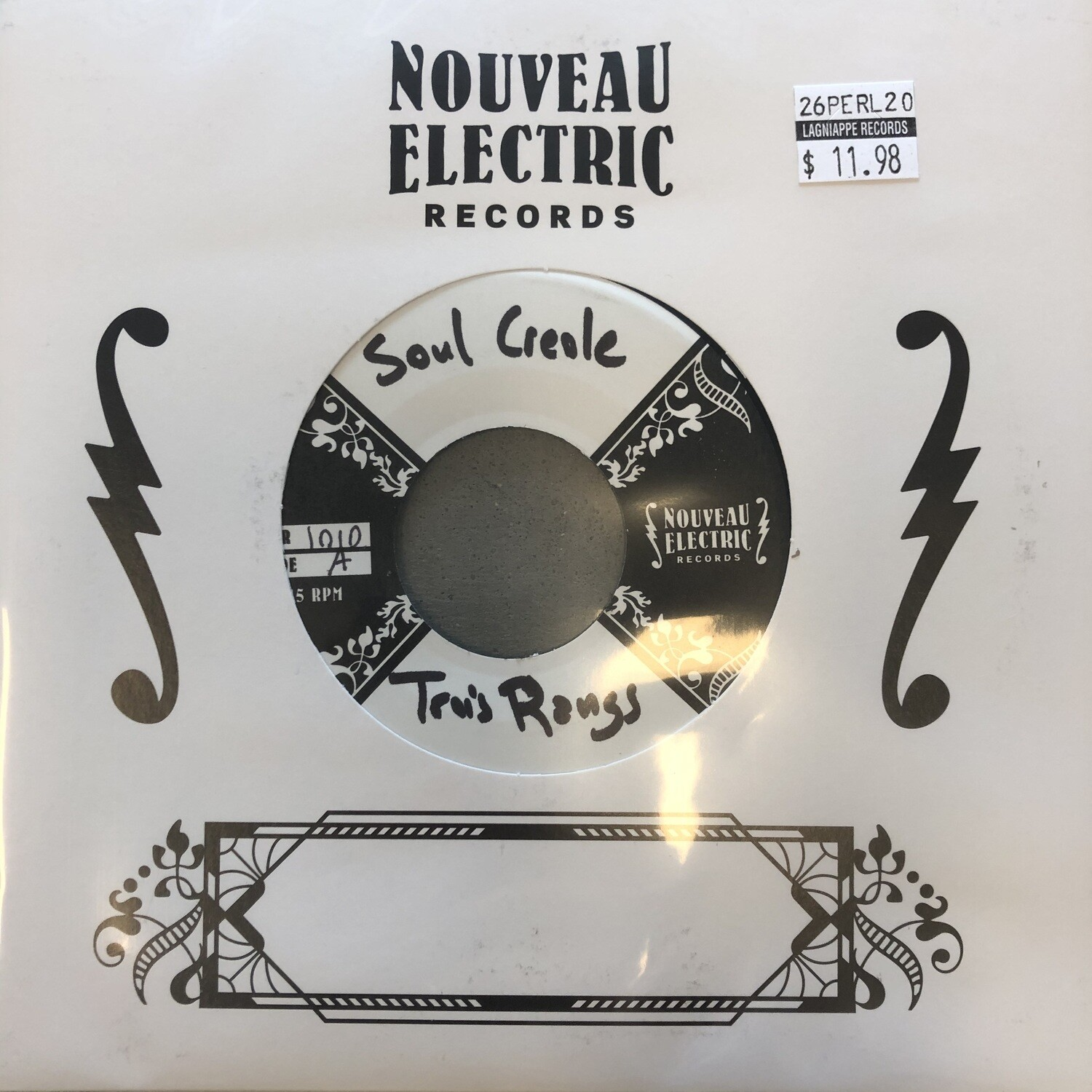 "Soul Creole ""Trois Rangs (Single & Dub)"" *45* 2020"