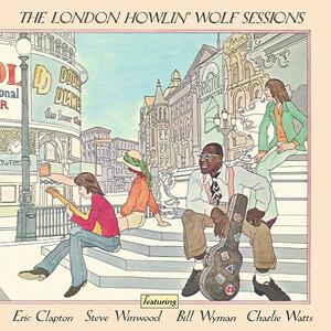 """Howlin' Wolf """"The London Howlin' Wolf Sessions"""" NM- 1971 *German press!*"""
