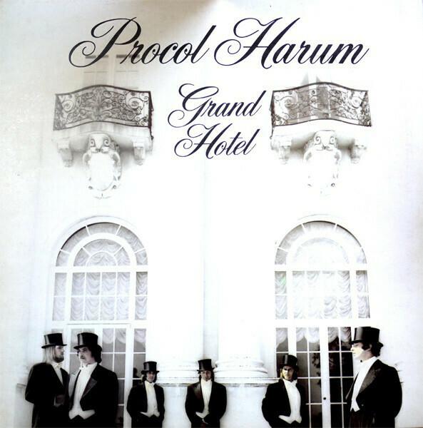 "Procol Harum ""Grand Hotel"" EX+ 1973 *w/ booklet!*"