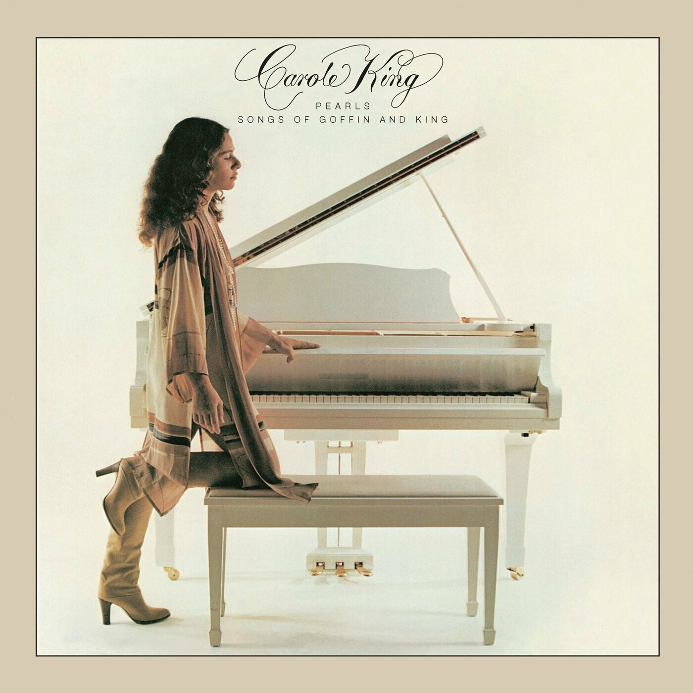 """Carole King """"Pearls: Songs Of Goffin And King"""" EX+ 1980 *SW/DNAP*"""