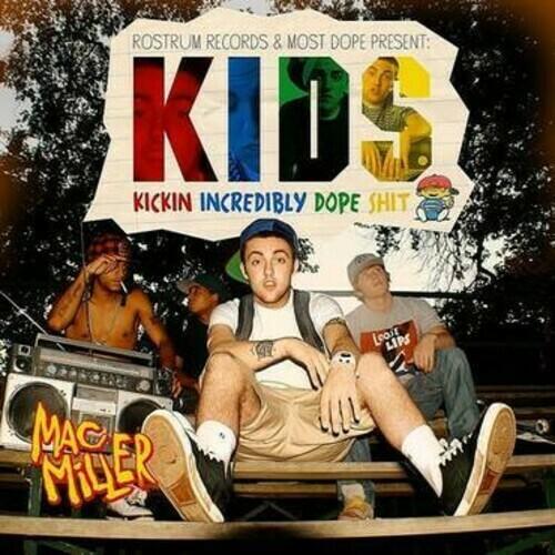 """Mac Miller """"K.I.D.S."""" {2xLPs!}"""