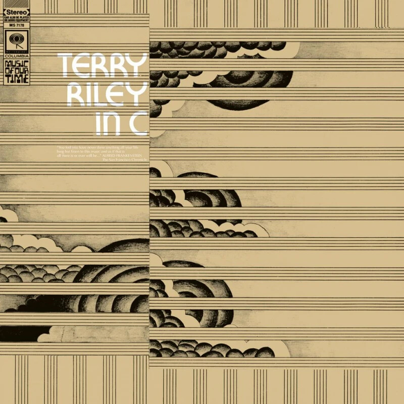 """Terry Riley """"Terry Riley In C"""" NM- 1968 *1st press!*"""