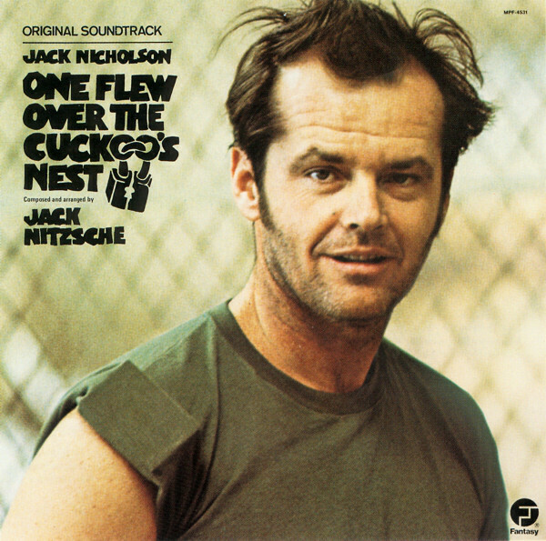 "Jack Nitzsche ""One Flew Over The Cuckoo's Nest"" VG+ 1975"