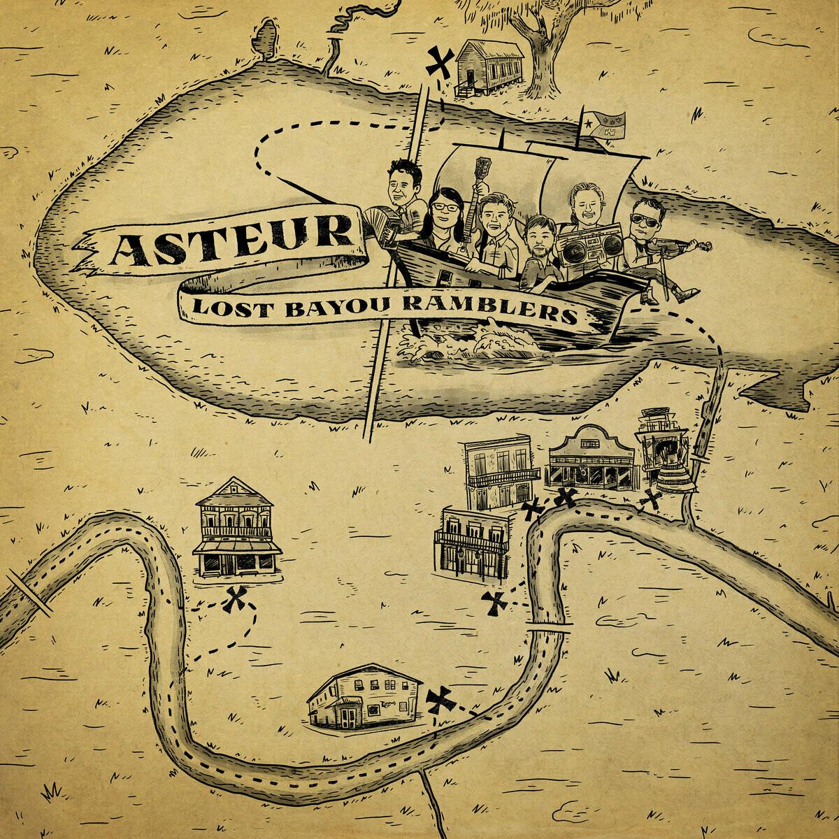 """Lost Bayou Ramblers """"Asteur"""""""
