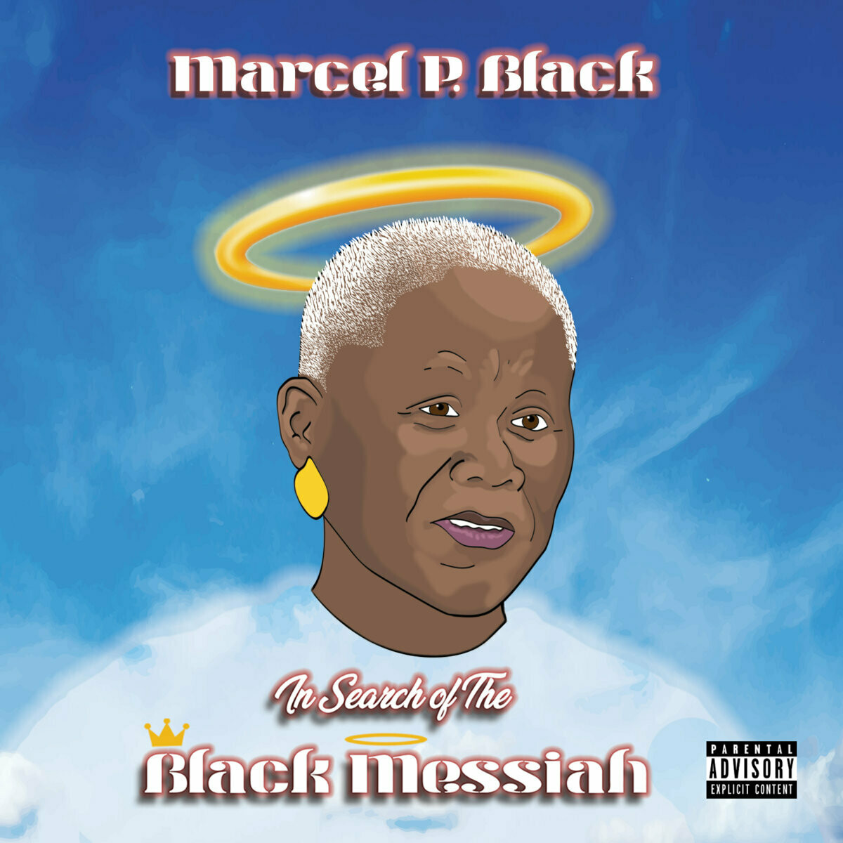 """Marcel P. Black """"In Search Of The Black Messiah"""" *CD*"""