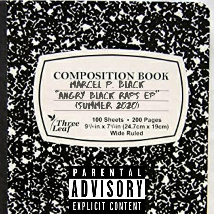 "Marcel P. Black ""Angry Black Raps EP"" *CD*"