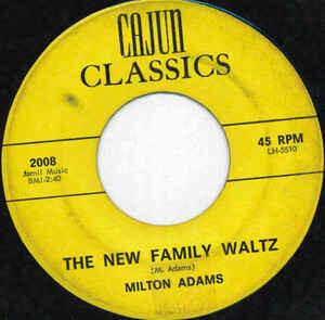 "Milton Adams ""The New Family Waltz/Your Papa..."" *45* VG+ 1964"