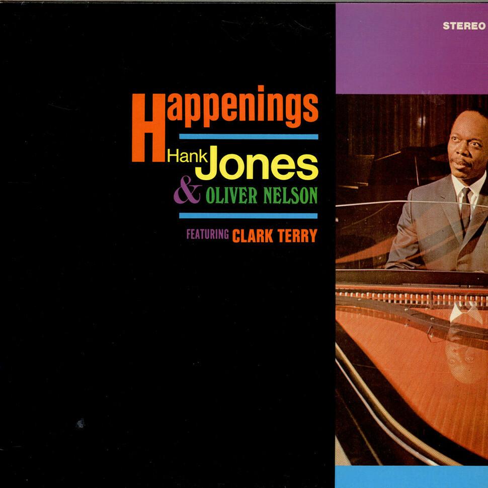 """Hank Jones & Oliver Nelson """"Happenings"""" EX+ 1967/re.1972 *SW/DNAP*"""