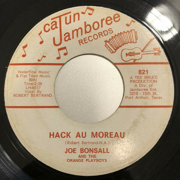 """Joe Bonsall """"Hack Au Moreau"""" *45* VG+ 1966"""