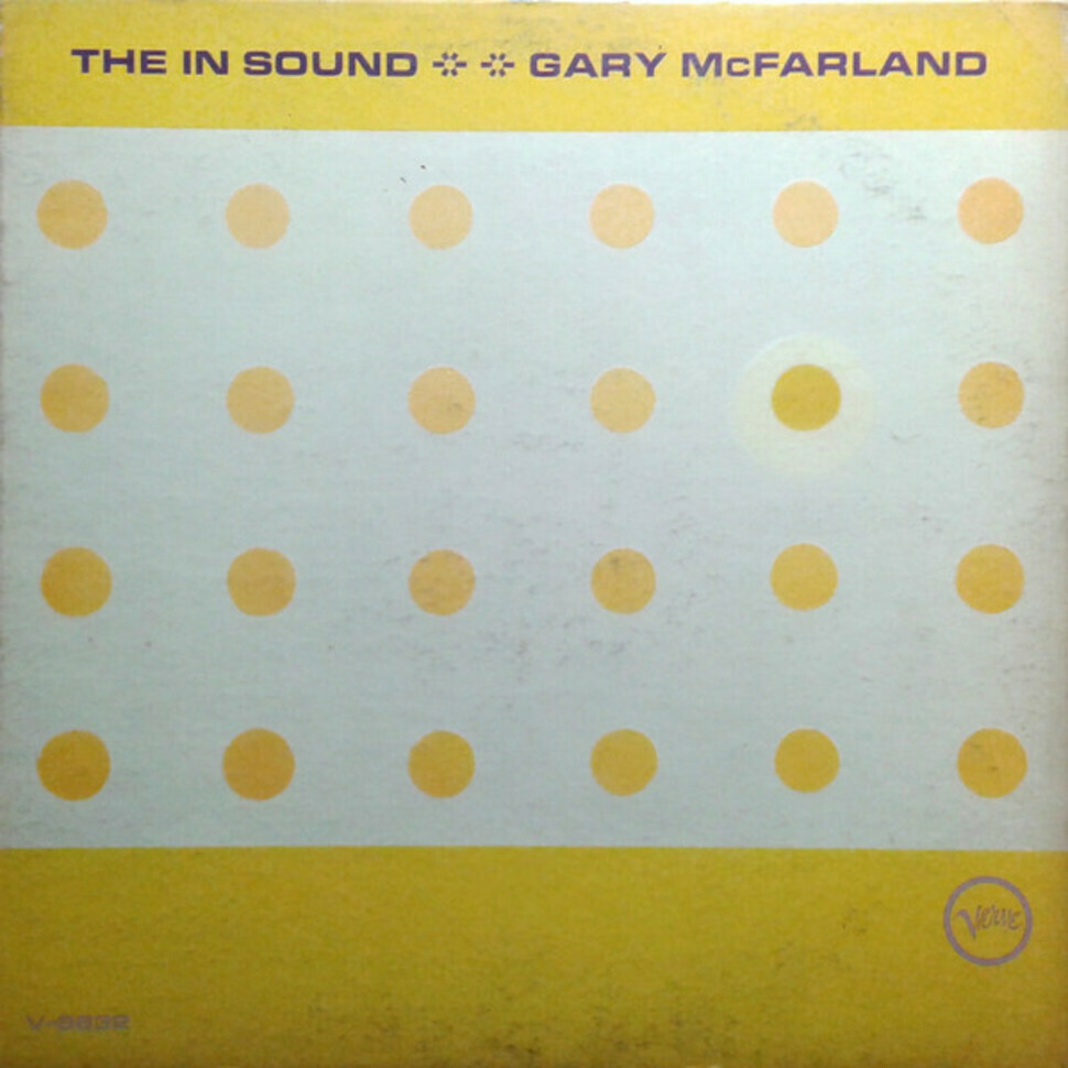 "Gary McFarland ""The In Sound"" VG+ 1966"