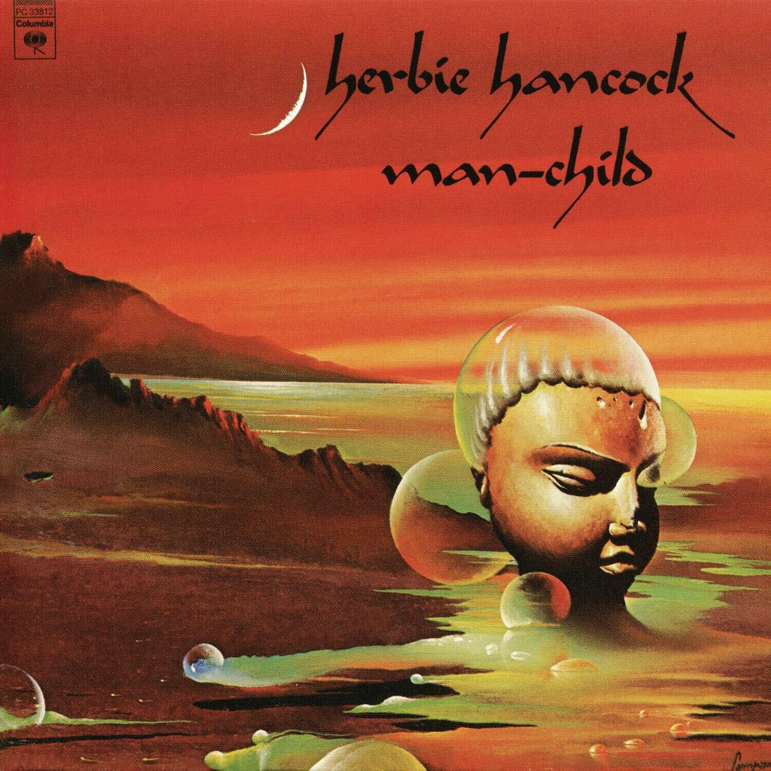 "Herbie Hancock ""Man-Child"" VG 1975"