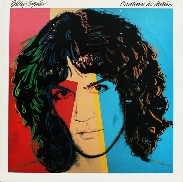 """Billy Squier """"Emotions In Motion"""" VG+ 1982"""