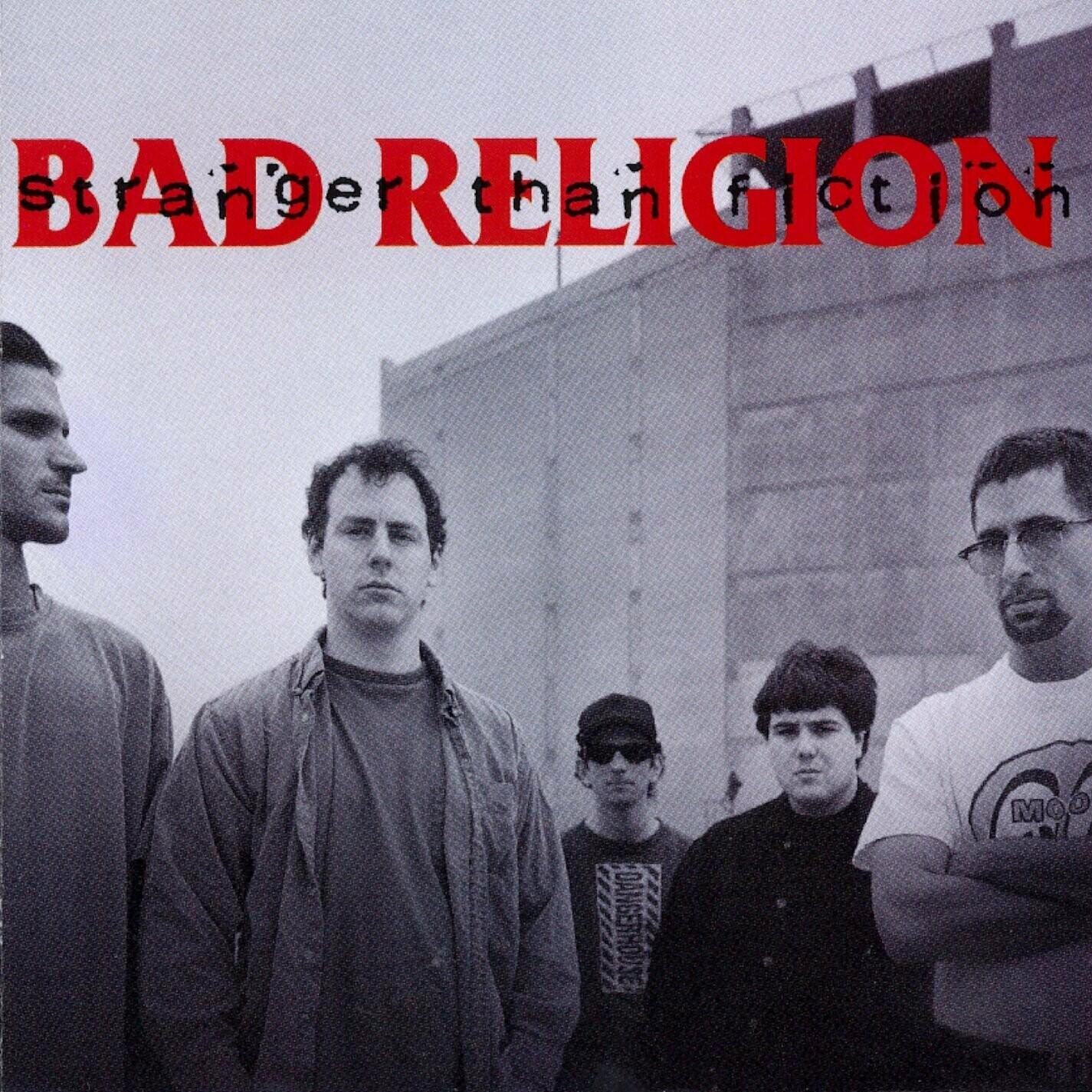 """Bad Religion """"Stranger Than Fiction"""" NM 1994/re.2018"""