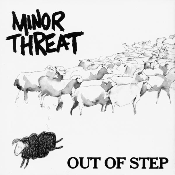 "Minor Threat ""Out Of Step"" NM 1983/re.2016"