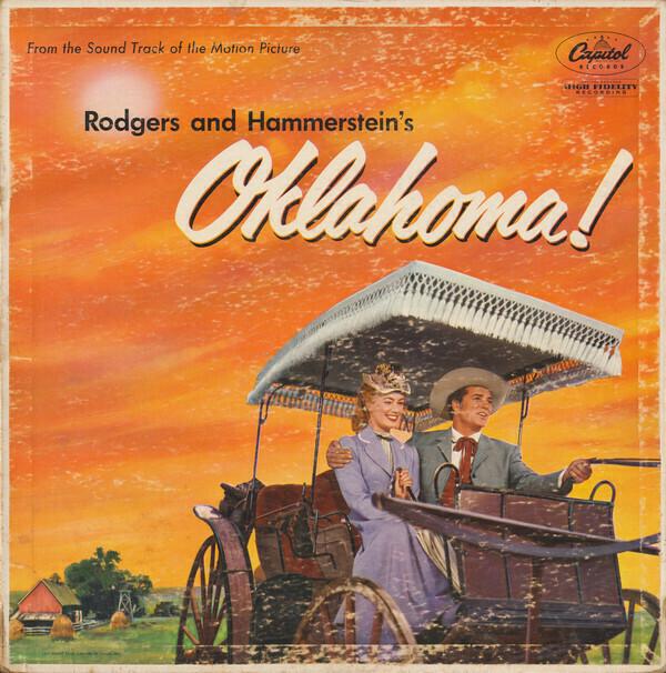 "Rodgers & Hammerstein ""Oklahoma!"" VG 1955/re.1956 *MONO*"