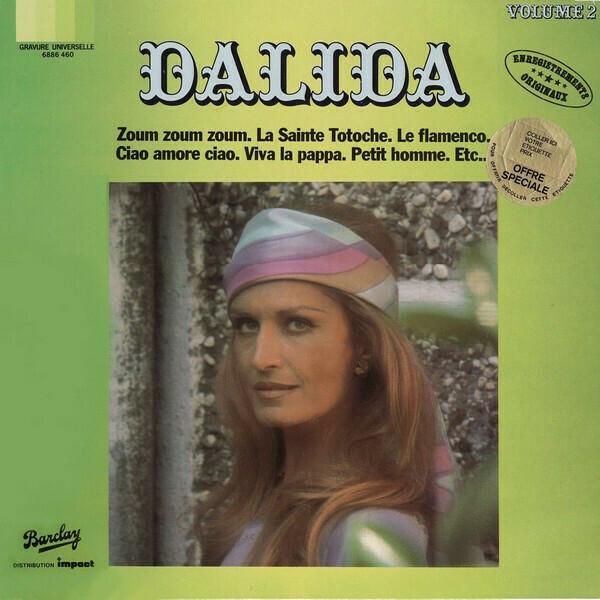 "{DSCGS} Dalida ""Dalida: Volume 2"" NM- 1980"