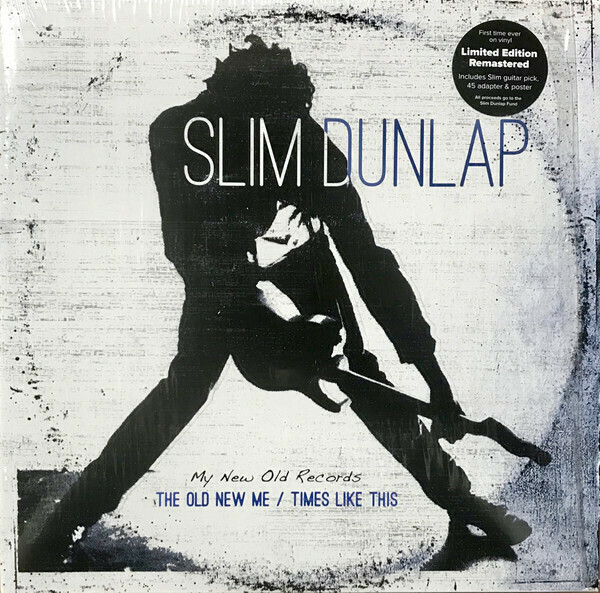 "Slim Dunlap ""My Old New Records: The Old New Me / Times Like This"" NM 2015 {2xLPs!}"