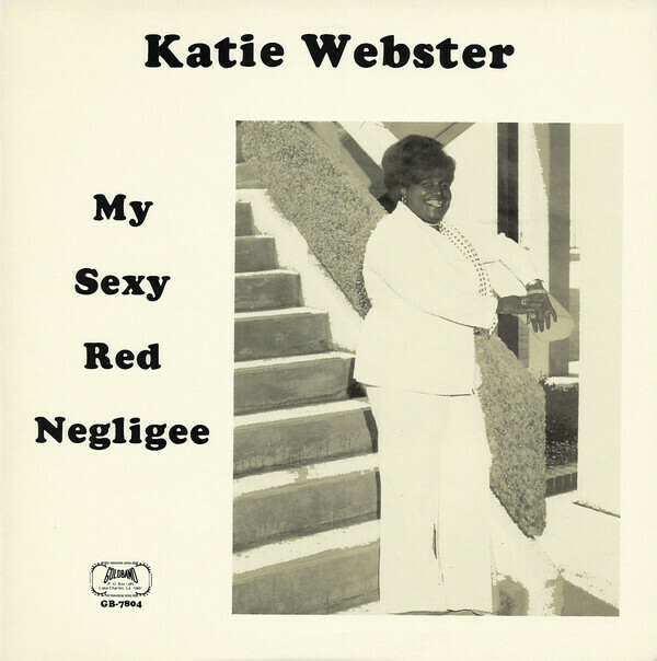 """Katie Webster """"My Sexy Red Negligee"""" *SEALED* 1982"""