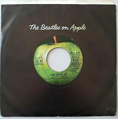 """The Beatles """"Let It Be / You Know My Name..."""" *45* VG 1970"""