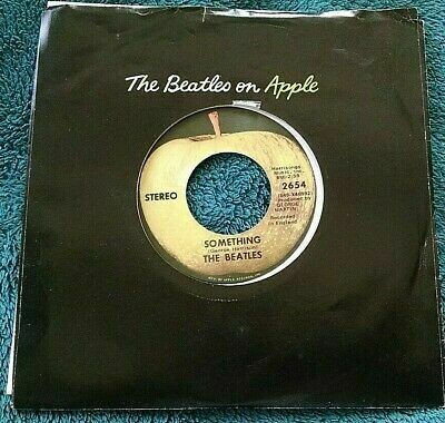 "The Beatles ""Something / Come Together"" *45* VG+ 1969"