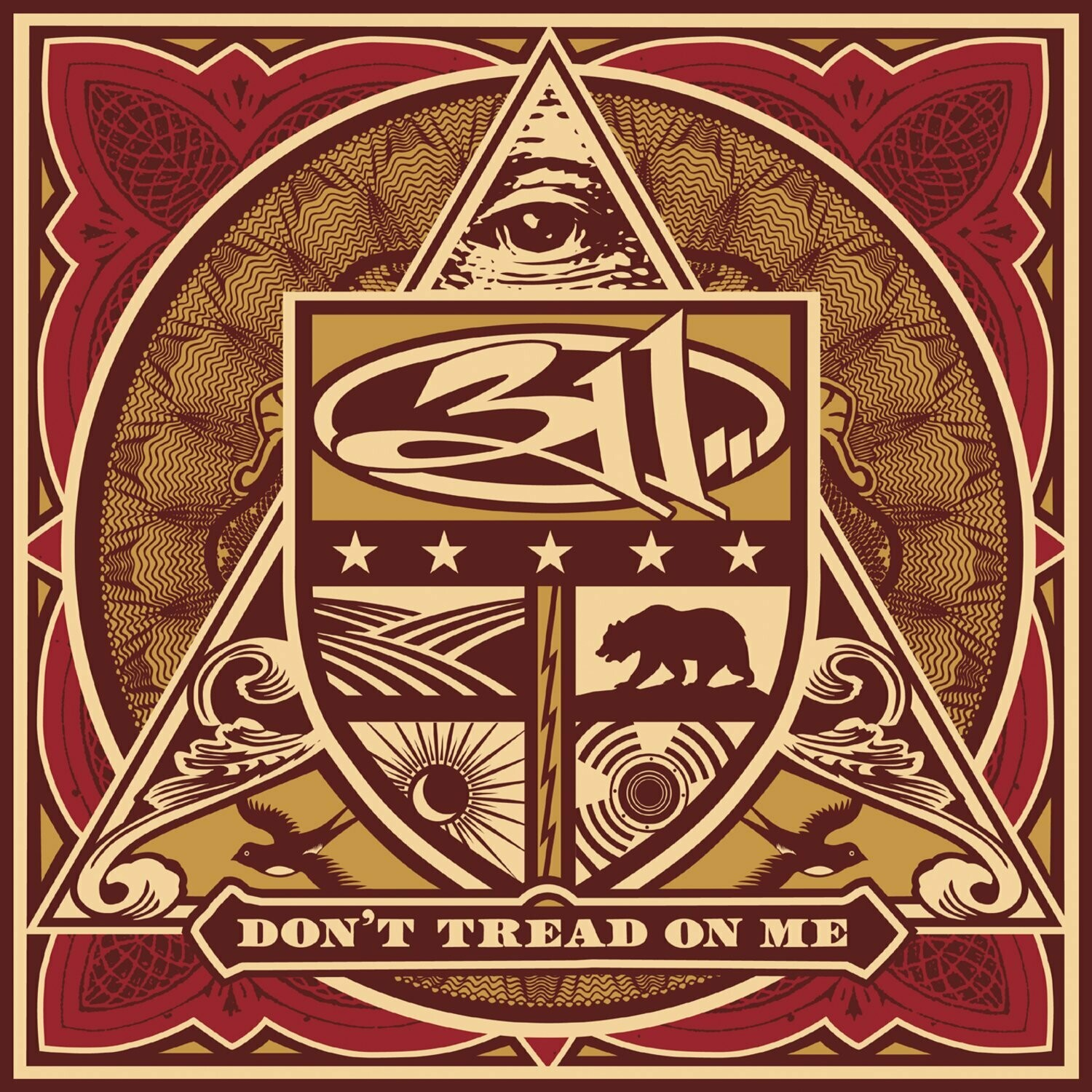 "311 ""Don't Tread On Me"" *CD* 2005"