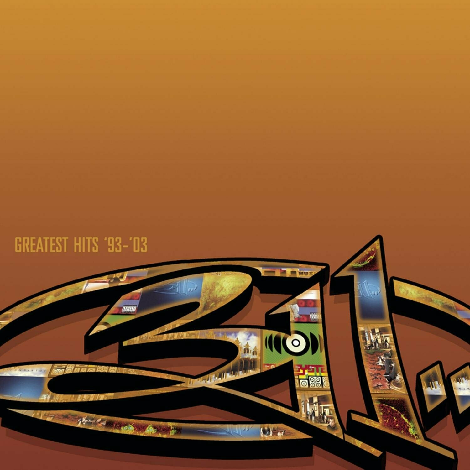 "311 ""Greatest Hits '93-'03"" *CD* 2004"
