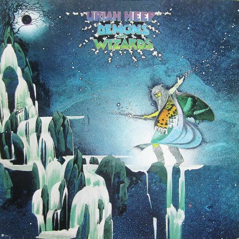 """Uriah Heep """"Demons And Wizards"""" VG 1972"""