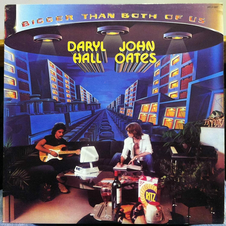 "Hall & Oates ""Bigger Than Both Of Us"" VG+ 1976"