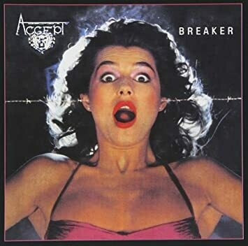 "Accept ""Breaker"" EX+ 1981 *German press!*"