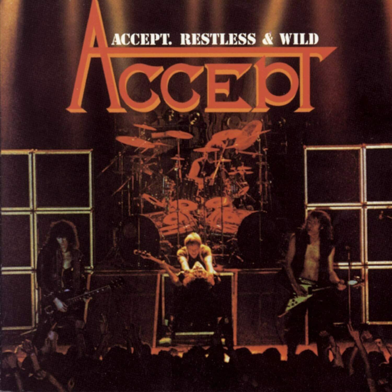 """Accept """"Restless & Wild"""" VG+ 1983"""