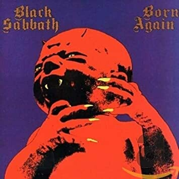 "Black Sabbath ""Born Again"" EX+ 1983"