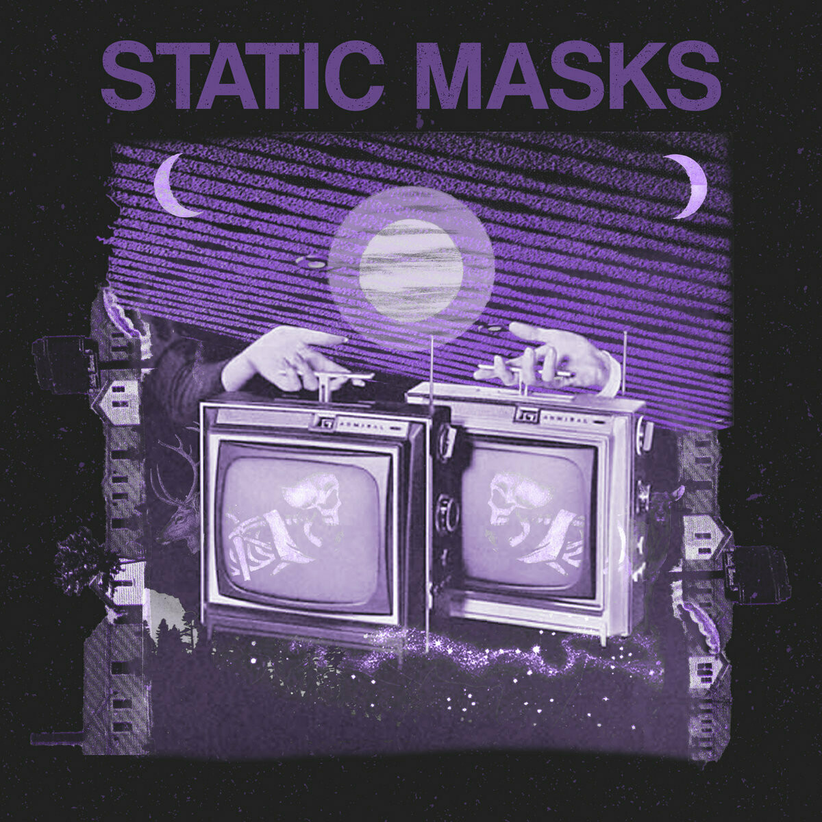 """Static Masks """"Lucky You / The Same Mistake"""" *45* 2020"""