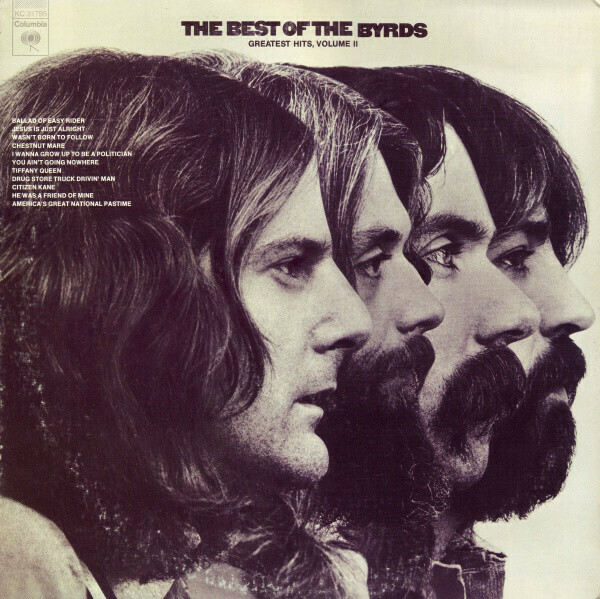 """The Byrds """"The Best Of The Byrds: Greatest Hits, Volume II"""" *CD* 1972/re."""