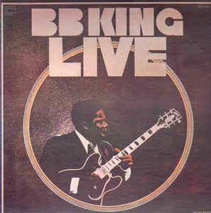 "B.B. King ""Live"" EX+ 1972 [r4449585]"