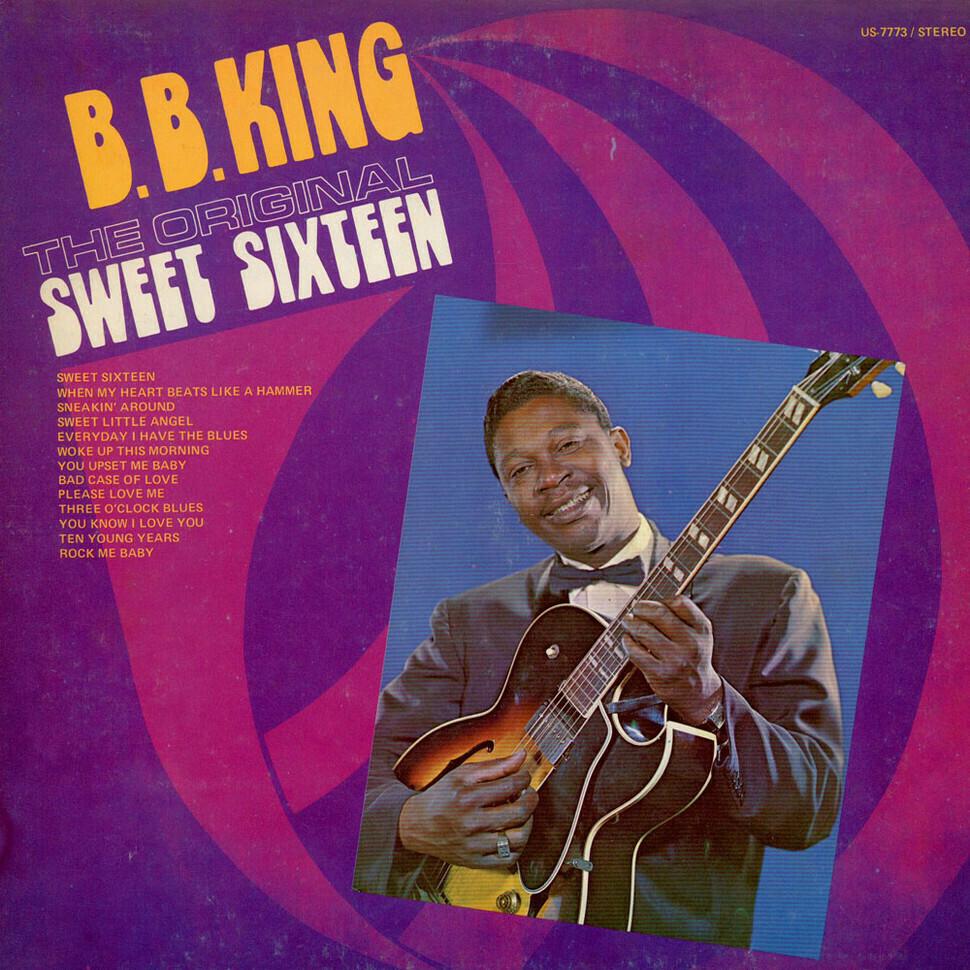 "B.B. King ""The Original Sweet Sixteen"" VG- 1964"