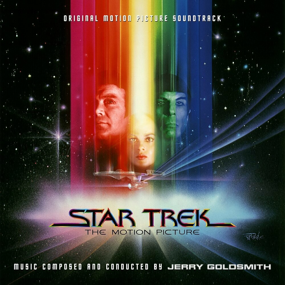 """Jerry Goldsmith """"Star Trek: The Motion Picture"""" EX+ 1979 *w/inserts!*"""