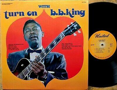 """B.B. King """"Turn On With B.B. King"""" VG 1963"""