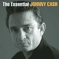 """Johnny Cash """"The Essential Johnny Cash"""" *CD* 2001 {2xCDs!}"""