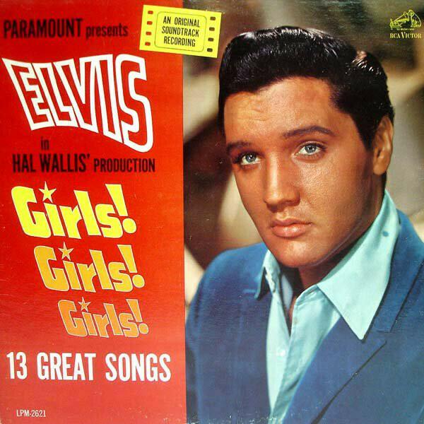 "Elvis Presley ""Girls! Girls! Girls!"" VG+ 1964"