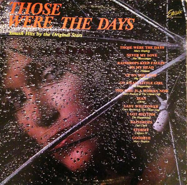 """Various """"Those Were The Days"""" VG 1980"""