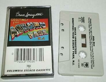"Bruce Springsteen ""Greetings From Asbury Park, N.J."" *TAPE*"