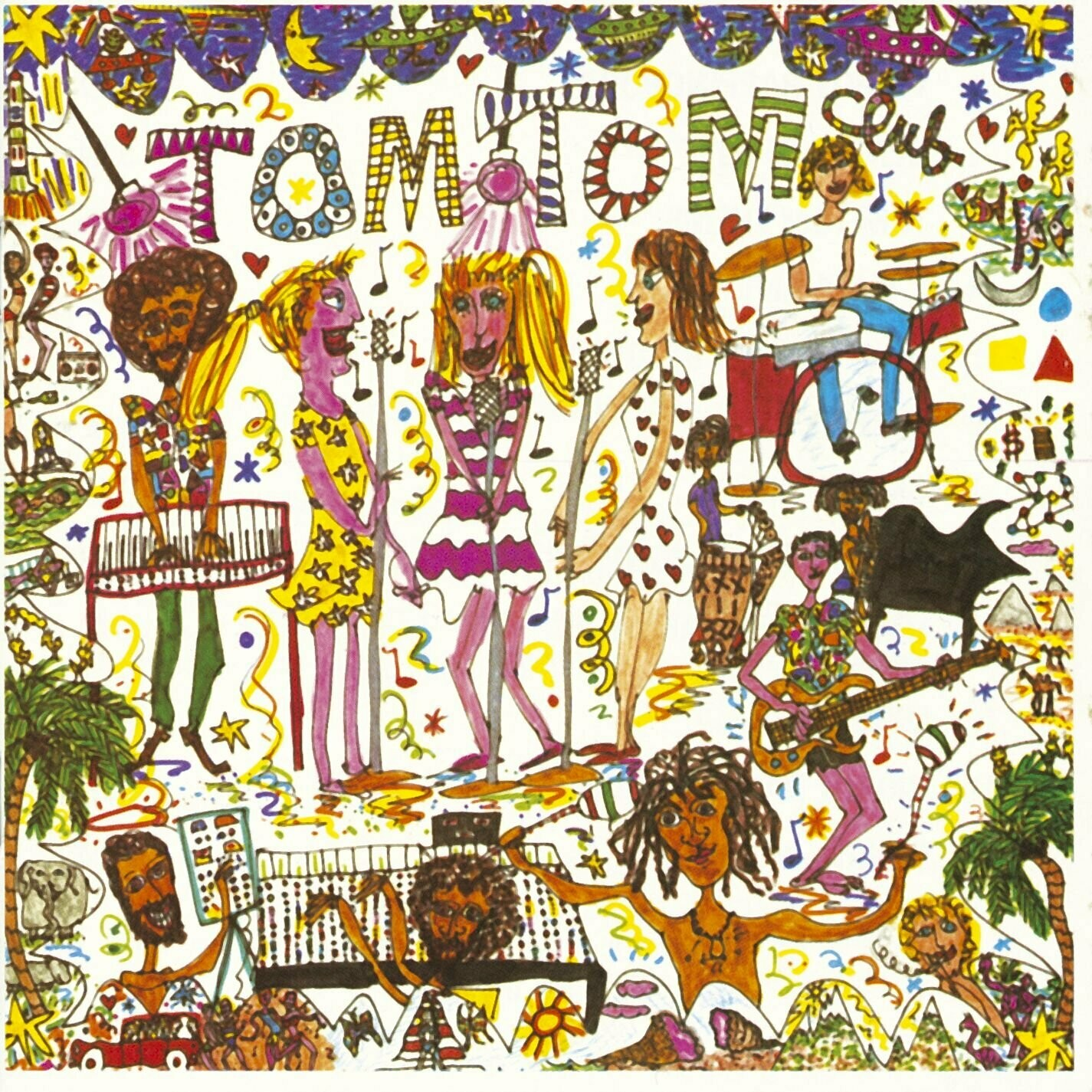 "Tom Tom Club ""Tom Tom Club"" (Tropical Yellow & Red Vinyl!)"
