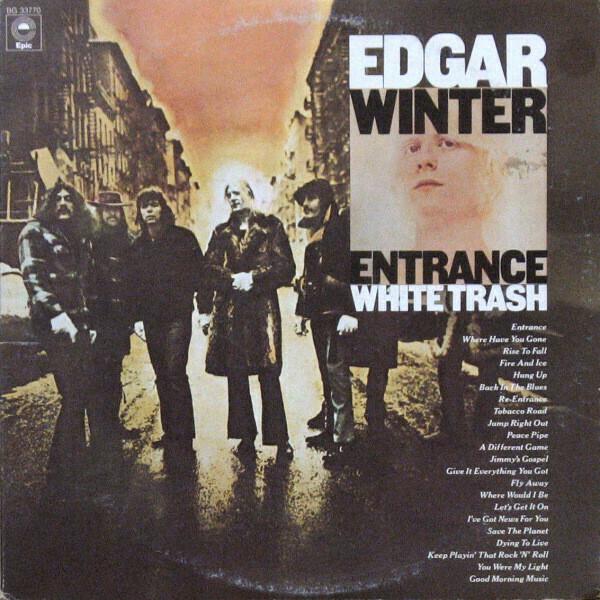 "Edgar Winter ""Entrance / White Trash"" EX+ 1976 {2xLPs!}"